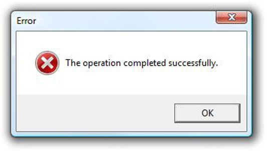 Operation Completed Successfully